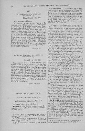 Tome 68 : Du 1er au 14 juillet 1793 - page 66