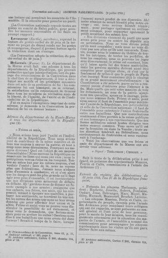 Tome 68 : Du 1er au 14 juillet 1793 - page 67