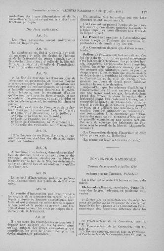 Tome 68 : Du 1er au 14 juillet 1793 - page 117