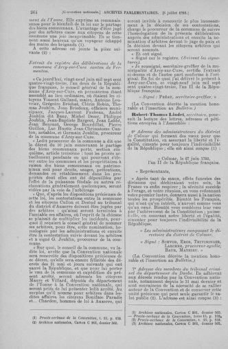 Tome 68 : Du 1er au 14 juillet 1793 - page 264