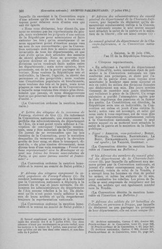 Tome 68 : Du 1er au 14 juillet 1793 - page 368