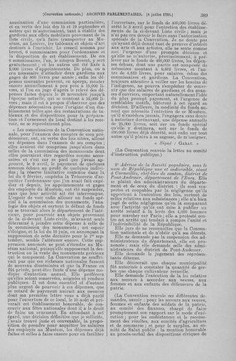 Tome 68 : Du 1er au 14 juillet 1793 - page 389