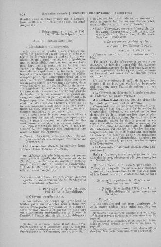 Tome 68 : Du 1er au 14 juillet 1793 - page 404