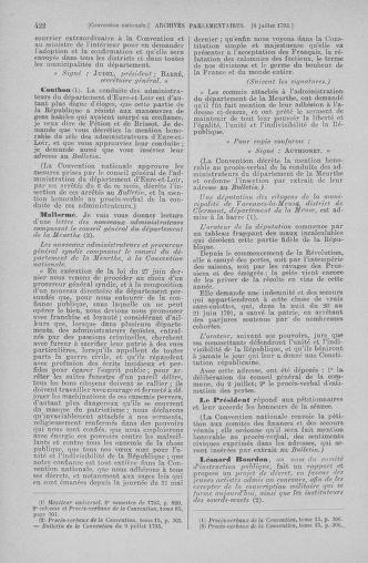 Tome 68 : Du 1er au 14 juillet 1793 - page 422