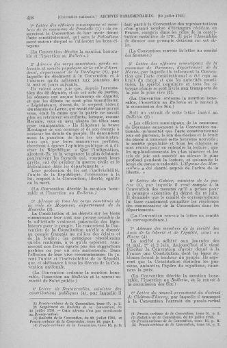 Tome 68 : Du 1er au 14 juillet 1793 - page 498