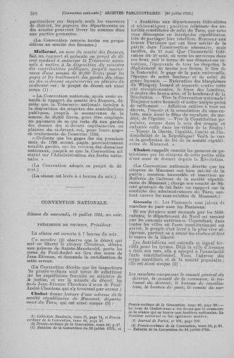 Tome 68 : Du 1er au 14 juillet 1793 - page 518