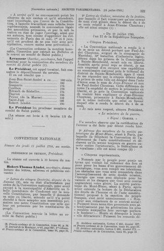 Tome 68 : Du 1er au 14 juillet 1793 - page 521