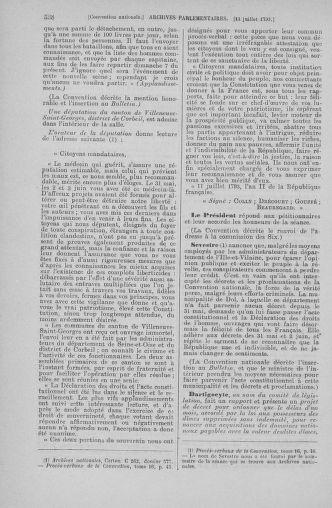 Tome 68 : Du 1er au 14 juillet 1793 - page 538