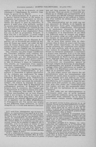 Tome 68 : Du 1er au 14 juillet 1793 - page 541