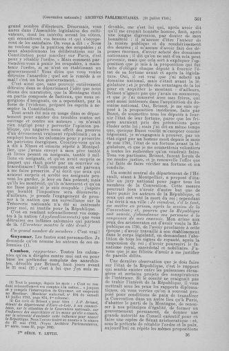 Tome 68 : Du 1er au 14 juillet 1793 - page 561