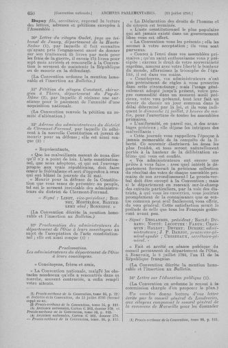 Tome 68 : Du 1er au 14 juillet 1793 - page 650