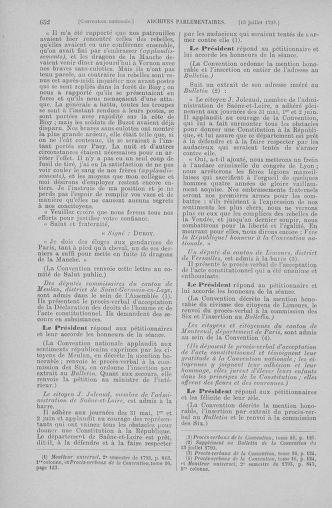 Tome 68 : Du 1er au 14 juillet 1793 - page 652