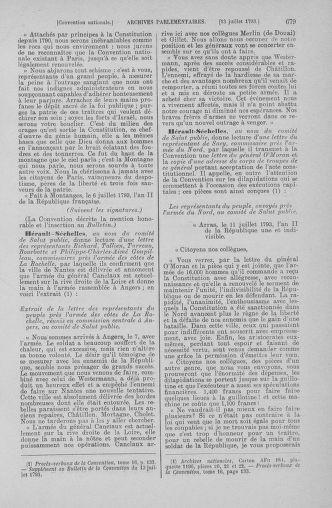 Tome 68 : Du 1er au 14 juillet 1793 - page 679