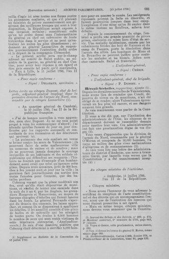 Tome 68 : Du 1er au 14 juillet 1793 - page 681