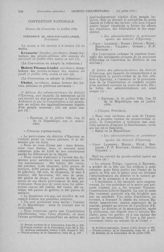 Tome 68 : Du 1er au 14 juillet 1793 - page 700