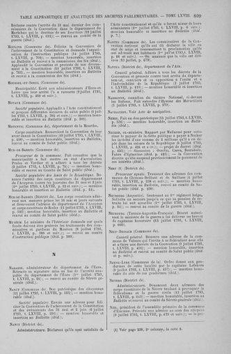 Tome 68 : Du 1er au 14 juillet 1793 - page 809