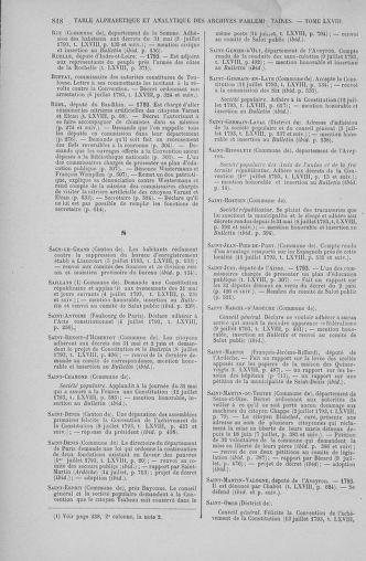Tome 68 : Du 1er au 14 juillet 1793 - page 818