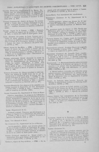 Tome 68 : Du 1er au 14 juillet 1793 - page 821