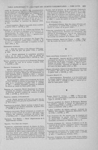 Tome 68 : Du 1er au 14 juillet 1793 - page 823