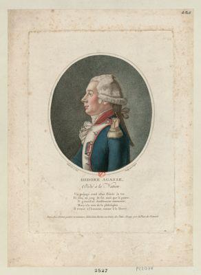 Isidore Agasse dédié à la nation : un préjugé cruel allait flétrir sa vie... : [estampe]
