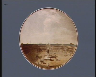 Vue de la place Vendome [estampe]