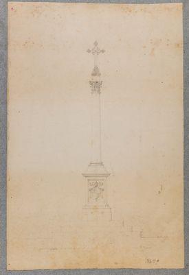 Colonna votiva di Pio IX, basilica S. Sebastiano