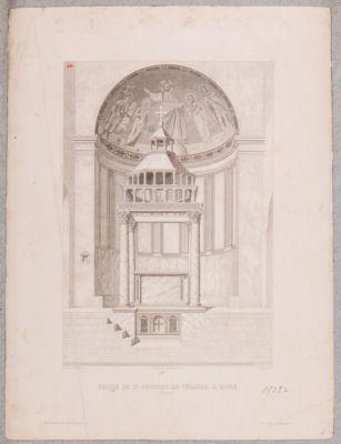 S. Giorgio in Velabro. Abside e ciborio