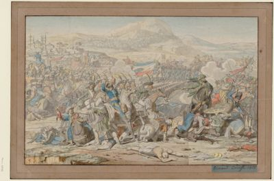 Bataille de Nazareth [dessin]