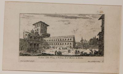 Piazza e Palazzo S. Marco a Roma