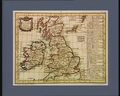 Les  Royaumes d'Angleterre d'Ecosse et d'Irlande [estampe]