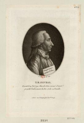 T. M. Favras executé le 19 fev.er <em>1790</em> place de Grêve, accusé d'avoir projetté l'enlevement du Roi et de sa famille : [estampe]