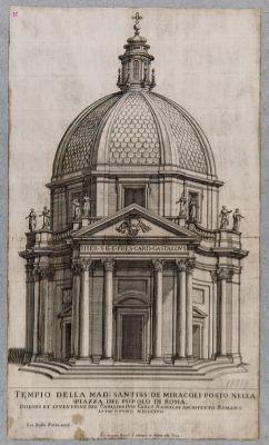 Piazza del Popolo, chiesa di S. Maria dei Miracoli