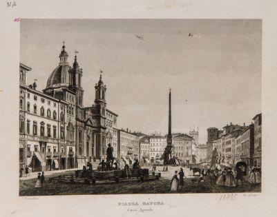 Piazza Navona. Circo Agonale