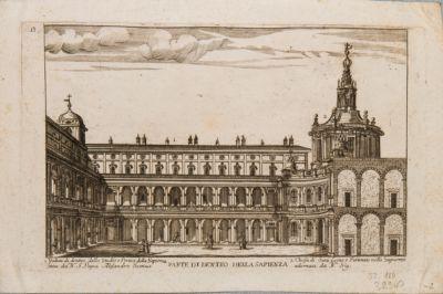 Palazzo della Sapienza, atrio