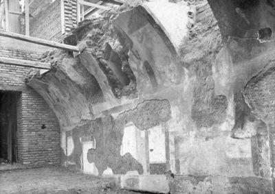 Horti Sallustiani, cryptoporticus, sorth side