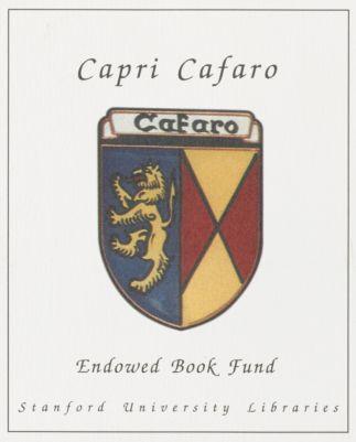 Capri Cafaro Endowed Book Fund