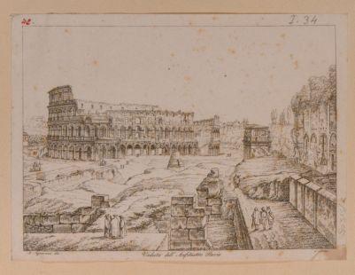 Colosseo, esterno. Veduta d'insieme