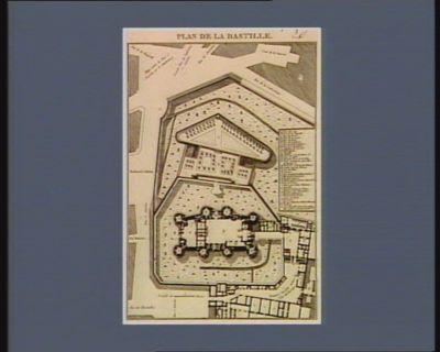 Plan de la Bastille [estampe]
