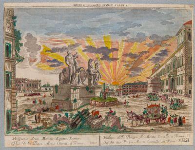 Piazza del Quirinale, veduta generale