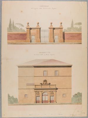 Palazzo della Sapienza. Dipendenze dalla Università, Villa già Gabrielli poi Museo Agrario