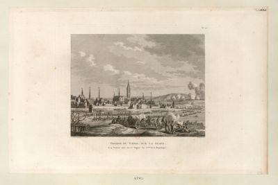 Passage du Vahal, sur la glace le 14 janvier <em>1795</em>, ou 25 nivose an 3.eme de la République : [estampe]