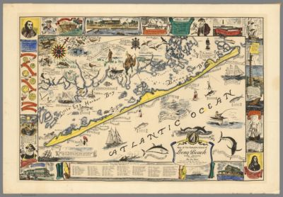 Road Map Of Bergen County New Jersey Cartographic Material In - New jersey road map