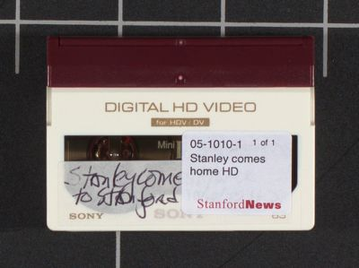 Stanley comes home to Stanford