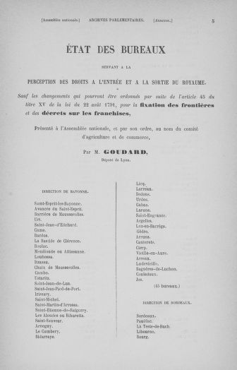 Tome 32 : 30 septembre 1791. Tables. - page 5