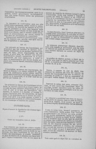 Tome 32 : 30 septembre 1791. Tables. - page 83