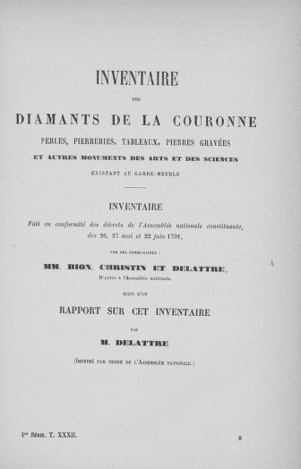 Tome 32 : 30 septembre 1791. Tables. - page ..