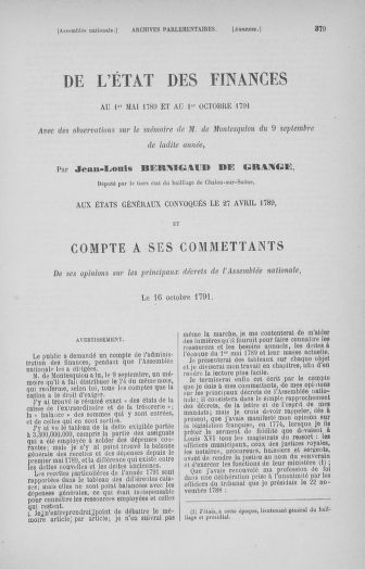 Tome 32 : 30 septembre 1791. Tables. - page 379