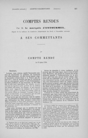 Tome 32 : 30 septembre 1791. Tables. - page 457