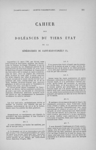 Tome 32 : 30 septembre 1791. Tables. - page 521
