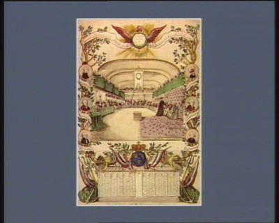 Almanach pour la présente année la nation, la loi et le roi : [estampe]